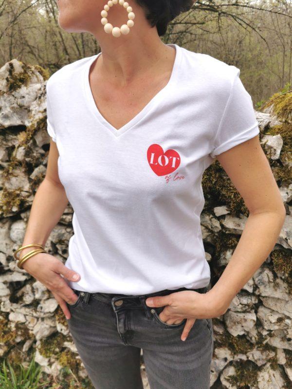 tee-shirt femme sacrée lotoise