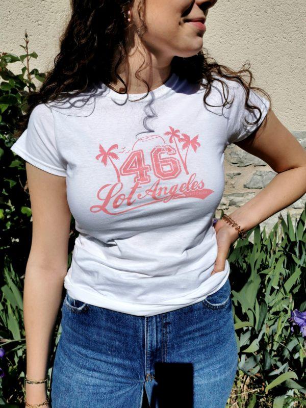 tee-shirt lotoise 46 100% lotoise