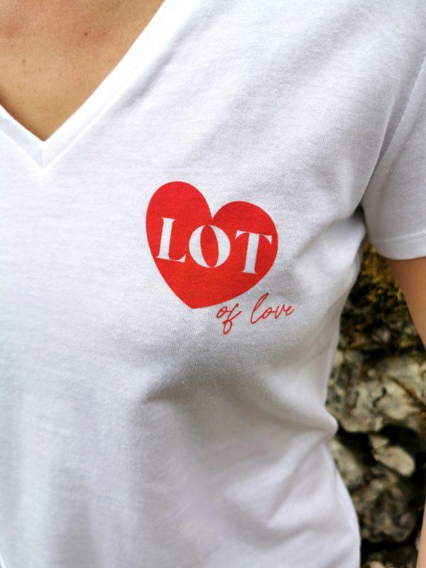 tee-shirt femme lotoise lot sacre lotois vêtement