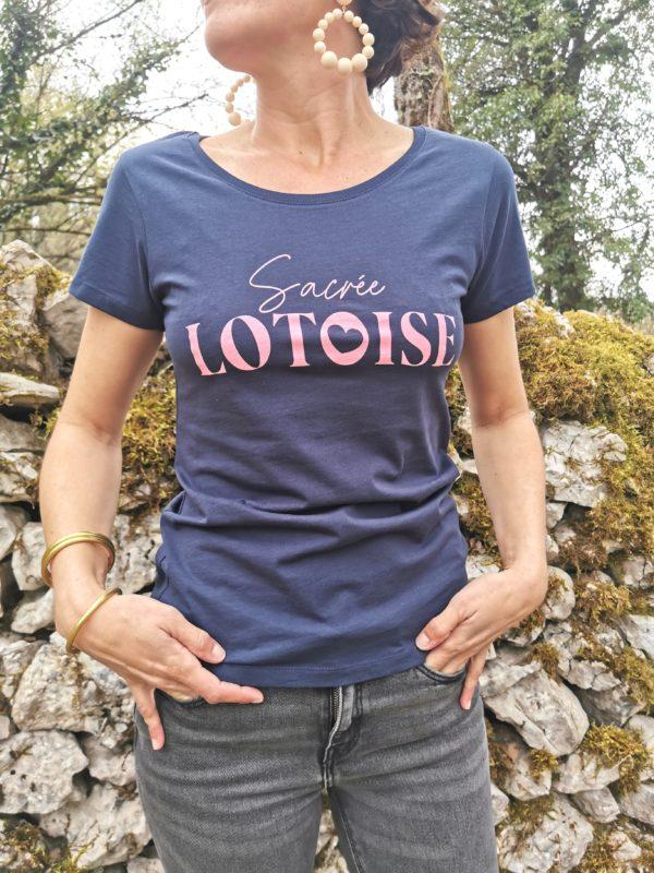 sacree lotoise le tee-shirt de sacre lotois