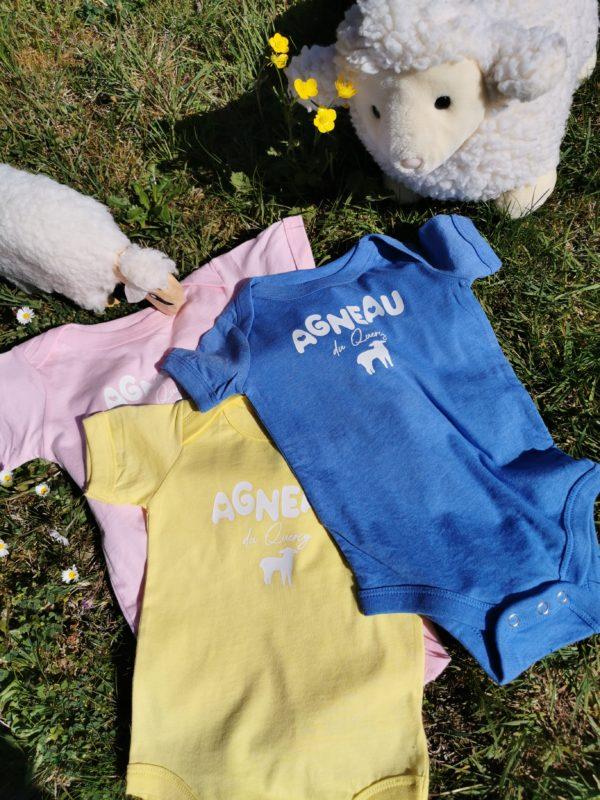body Agneau du Quercy 100% lotois bebe