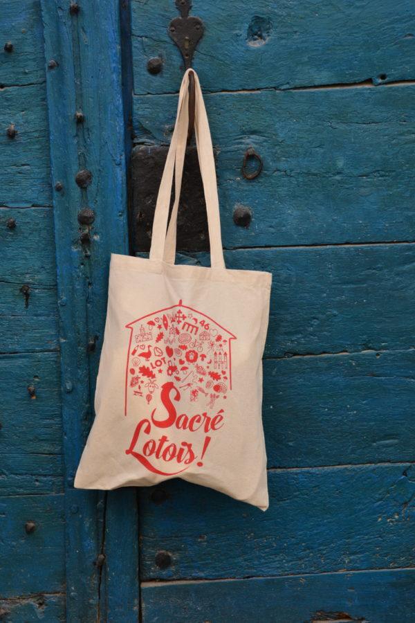 Tote-bag sacre lotois