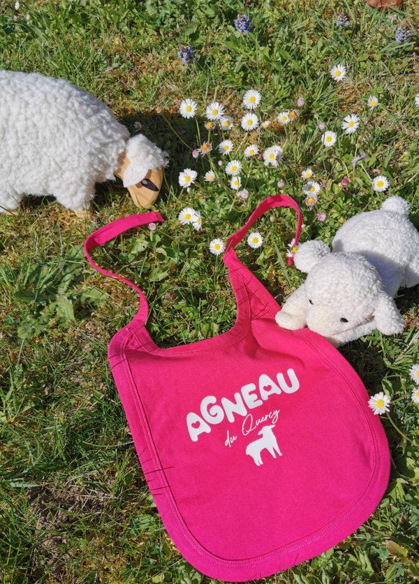 bavoir Agneau du Quercy