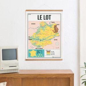 carte scolaire du Lot